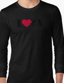 I love Hamster Guinea pig Long Sleeve T-Shirt