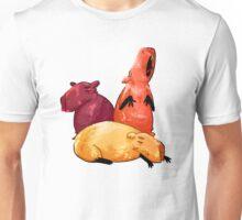 Lounging Capybaras Unisex T-Shirt