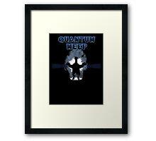 Quantum Meep Framed Print