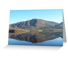 One Crisp Morning in the Lakes Greeting Card