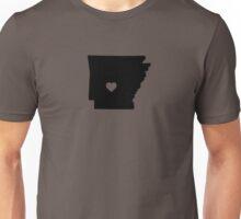 Arkansas <3 Unisex T-Shirt