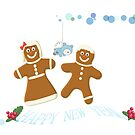 MR AND MRS GINGERBREAD MAN by carol oakes