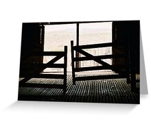 Door Way Out Greeting Card