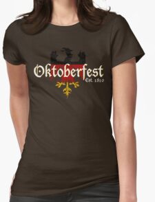 Oktoberfest Established 1810 Womens Fitted T-Shirt