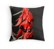 Sturt Desert Pea Throw Pillow