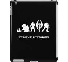 It's Evilutionary (with text) iPad Case/Skin