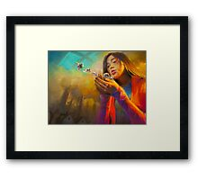 Wish Upon the Ordinary Framed Print