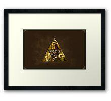 The Legend of Zelda, triforce Framed Print