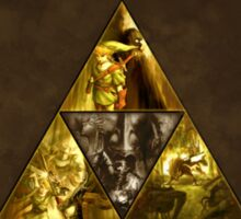 The Legend of Zelda, triforce Sticker