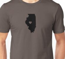 Illinois <3 Unisex T-Shirt