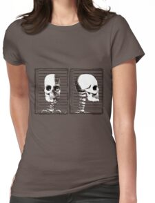 Mug Shot - Cold Case! Womens Fitted T-Shirt