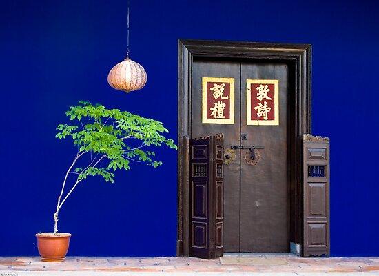 The Cheong Fatt Tze Mansion - Facade by Cvail73