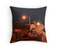 Harrisburg Benchwarmer Throw Pillow