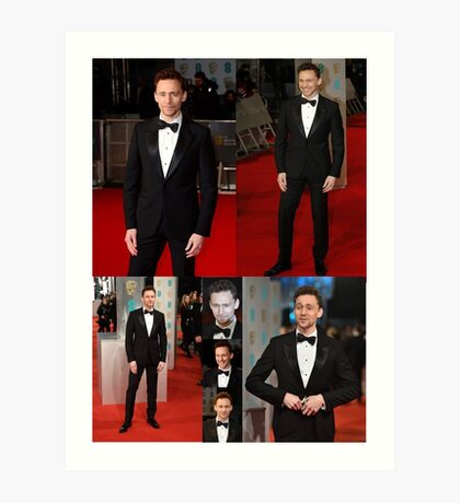 BAFTA 2015-TOM HIDDLESTON: POSTER, PHONE CASES, AND TABLET CASES Art Print