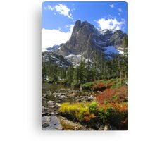 Rocky Mountains CO Canvas Print