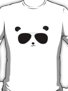 Badass Aviator Panda T-Shirt