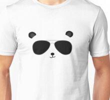 Badass Aviator Panda Unisex T-Shirt