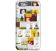 My Best Friend's A Ghost-Duck Comic Strip Collage iPhone Case/Skin