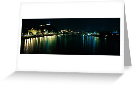 Budapest at night by Kyle Jerichow