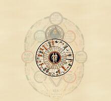 A Medieval Zodiac by pyktispix