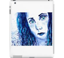 Just Blue iPad Case/Skin