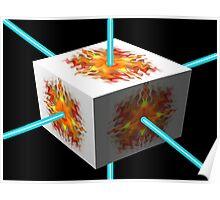 Debs Doodle Laser Box Poster
