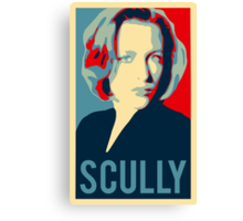 dana scully Canvas Print