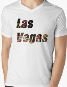 Las Vegas Mens V-Neck T-Shirt