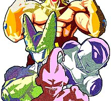 DBZ Villains by Cooltime