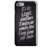 Grandmaster Flash iPhone Case/Skin