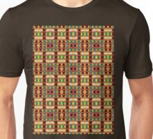 gold and rust blocks Unisex T-Shirt