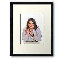 Labour Candidate Framed Print