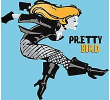 Pretty Bird 60s Style Photographic Print