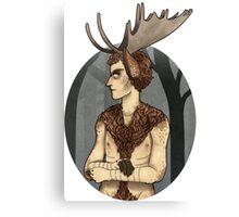 unhappy moosecroft Canvas Print