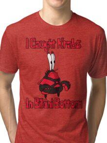 Mr Krabs Tri-blend T-Shirt