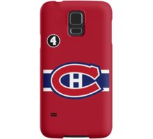 Montreal Canadiens - 2014-15 Jersey - red Samsung Galaxy Case/Skin