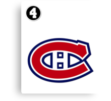 Montreal Canadiens - 2014-15 Jersey - white Canvas Print