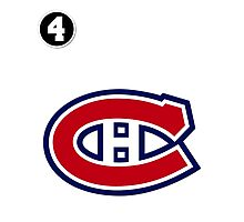 Montreal Canadiens - 2014-15 Jersey - white Photographic Print