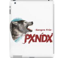 PXNDX Sangre Fria - grupo Panda Mexico iPad Case/Skin