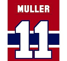 Kirk Muller #11 - red jersey Photographic Print
