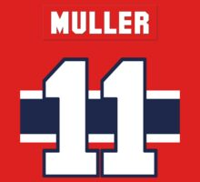 Kirk Muller #11 - red jersey One Piece - Short Sleeve