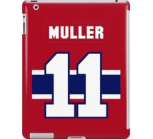Kirk Muller #11 - red jersey iPad Case/Skin