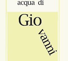 Italian Name - GIOVANNI by Nornberg77