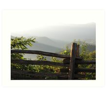 Smokey Mountain Morning Art Print
