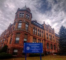 Old Middletown High School by Terence Russell