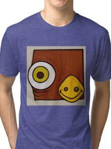 Brown bird Tri-blend T-Shirt