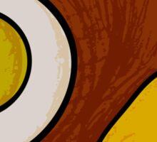 Brown bird Sticker
