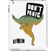 Don't Panic All Time Low iPad Case/Skin
