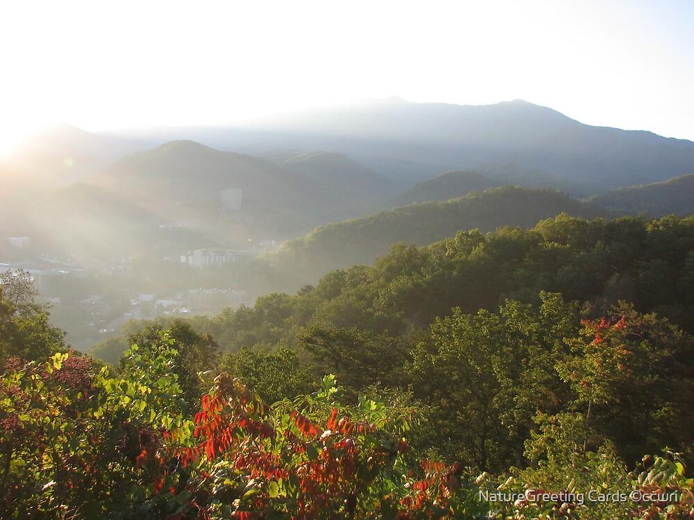 First Light,  Smokey Mountains by NatureGreeting Cards ©ccwri