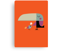 Hello Toucan Canvas Print
